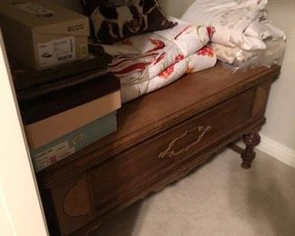 Antique hope chest