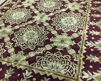 Beautiful wool rug never used