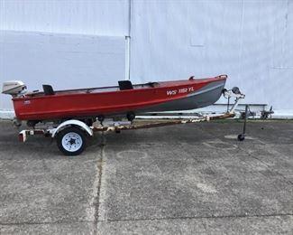 Crestline Boat, Johnson Motor
