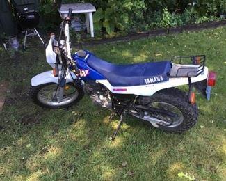 Yamaha TW Motorcycle