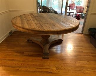 "62"" Round Dining room Table"