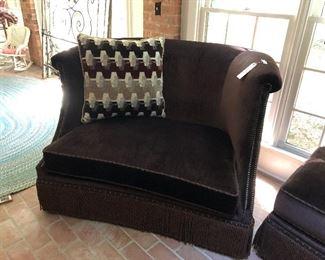 2- love seats $300 each ottoman $200