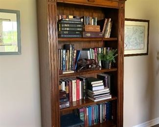 Cherry 5 Shelf Bookcase