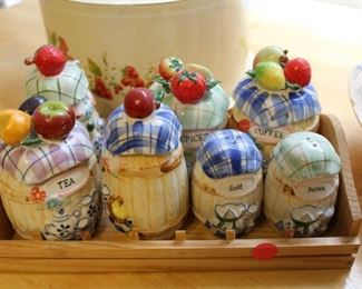 cute canister set
