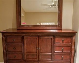 Beautiful Cindy Crawford Home Dresser with Mirror