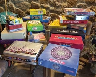 Many Games for Family Fun