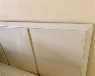 White Lacquer Headboard -  $125 - (80W  44H)