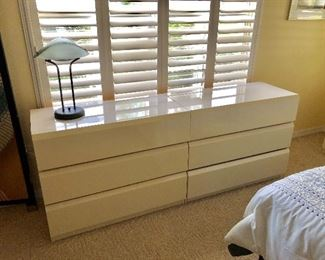 TWO Low Dressers - $225 EACH -(38W  18D  30H)