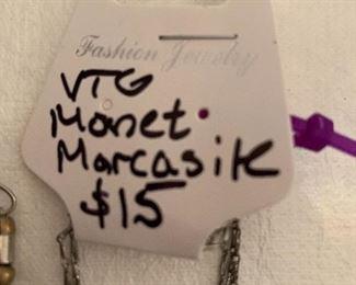 Vintage Monet Marcasite