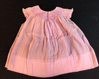 Pink Smocked dress.
