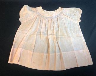 Little girl's vintage dress.