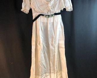 Vintage Class Day dress.