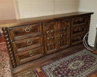 Part of a set: Dresser
