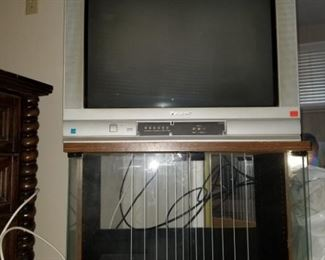 Older TV with Stand