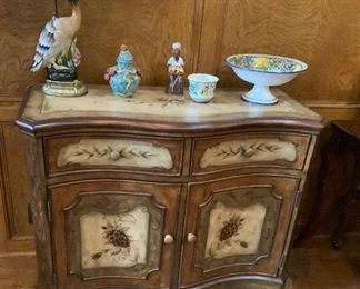 Seven Seas by Hooker Painted Cabinet