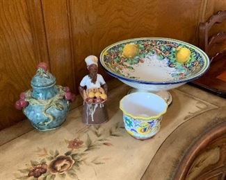 Ceramics from Italy & Jamaica