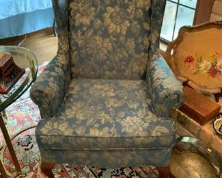 Bryant Furniture Co. Wingback Chair