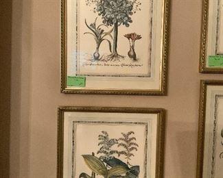 Set of 4 Edizioni Ponte Vecchio Prints - Italy