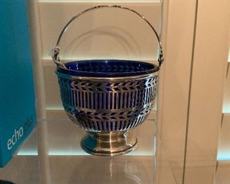 Sterling Cobalt Basket