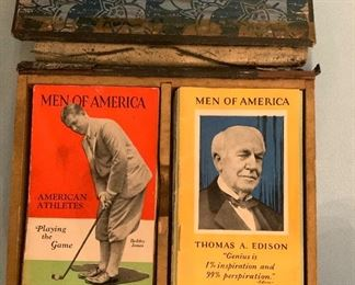 Men OF America Cards 1920s