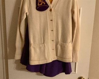 1950s Cheerleader Outfit from Shreveport, La