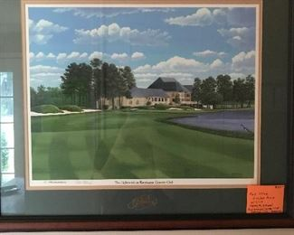 Print of Raveneaux Country Club