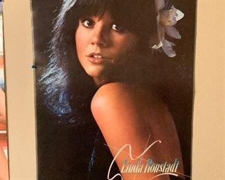 1970s Linda Ronstadt Poster