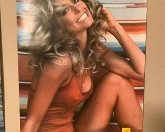 Iconic 1976 Farrah Fawcett Original Poster