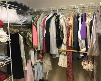 Vintage clothing including costumes