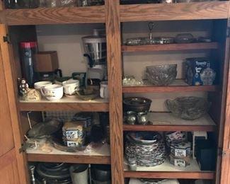 assorted serveware, household