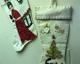 Check out glam Mom stocking!