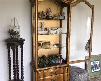 1960's/1970's Curio Cabinet