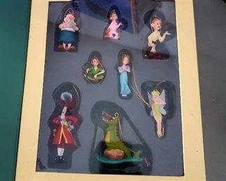 Peter Pan Christmas Ornament Set