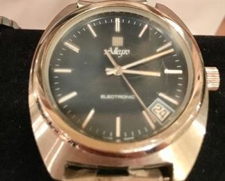 Allegro Swiss made electronic wrist watch