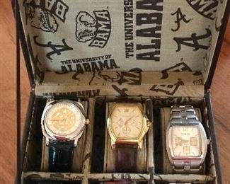 Set of 6 Meeting Street men's watches in Alabama case