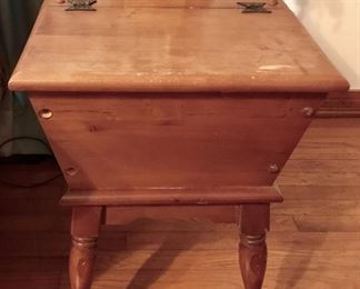 Lift-top storage accent table (there are 2)