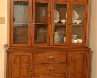 Mid-Century Stanley Furniture  china cabinet