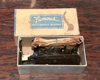 Antique Famous buttonholer