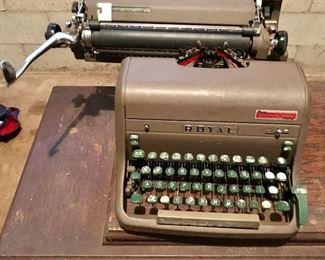 Vintage Royal typewriter