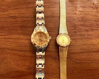 Faux his and hers Rolex watches