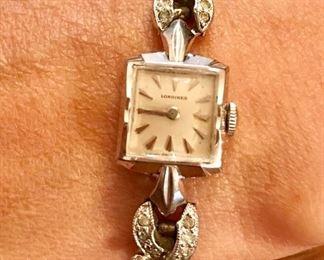 Vintage lady's Longines wind-up watch