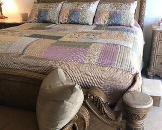 Ashley King bedroom set