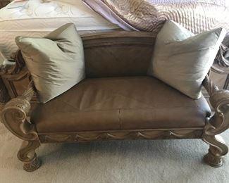 Bench Bisque Finish - Ashley Furniture