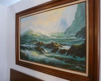 Don Fairbanks Seascape painting