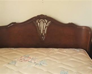French Provincial Full Bedroom Set: Bedframe