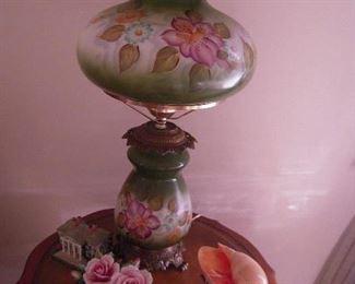 nice hand painted lamp