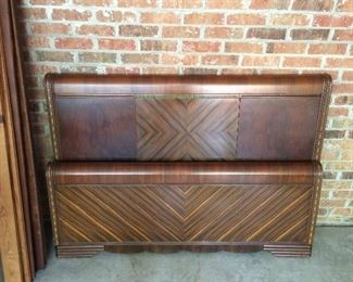 Art Deco Waterfall Depression Bed