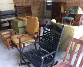 Nice Selection of vintage chairs