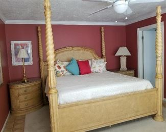 King Size Bed and Bedroom Suite