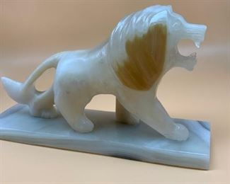 marble lion from Egypt